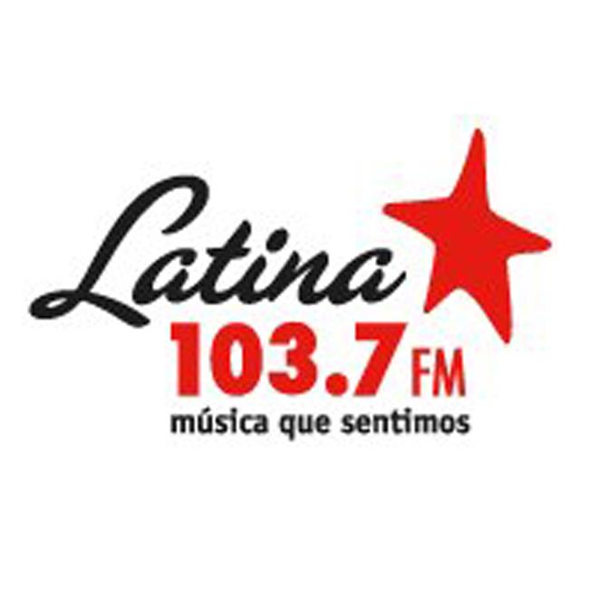 Logotipo de Latina 103.7 FM