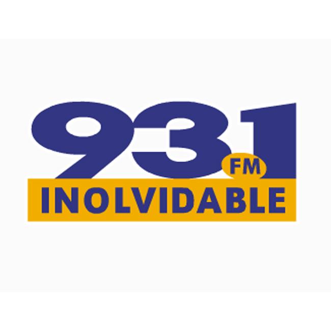 Logotipo de Inolvidable 93.1 FM - Las Piedras