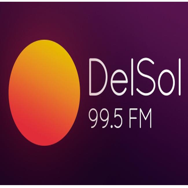 Logotipo de Del Sol 99.5 FM