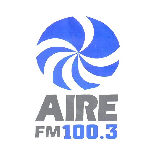 Logotipo de Radio Aire 100.3 FM