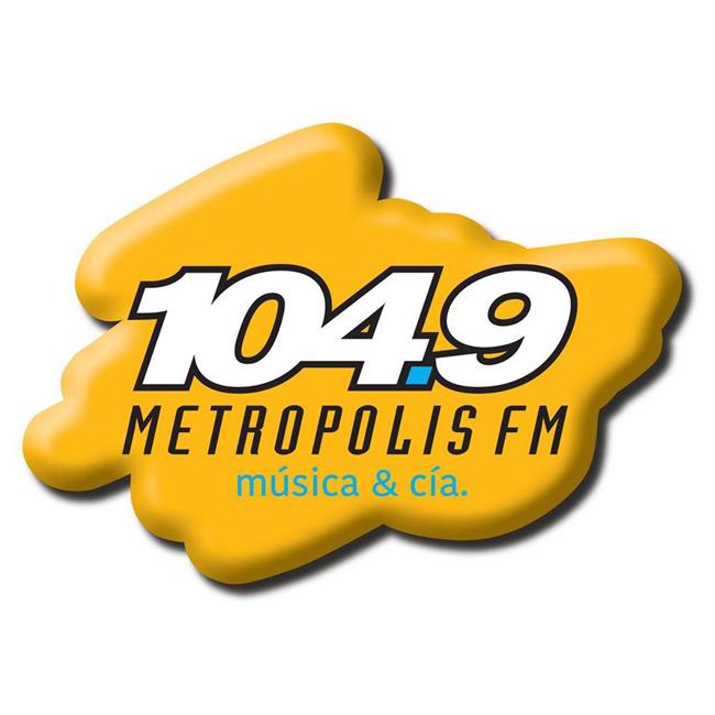 Logotipo de Metrópolis 104.9 FM