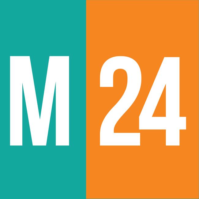 Logotipo de M24 97.9 FM