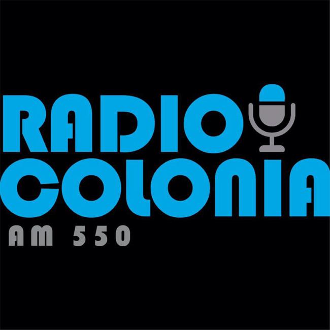 Logotipo de Radio Colonia 550 AM