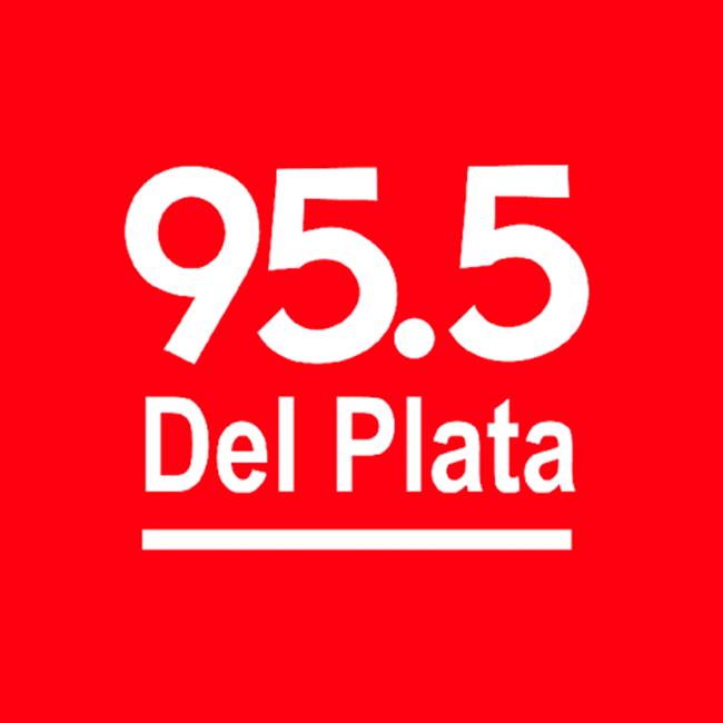 Logotipo de Del Plata 95.5 FM